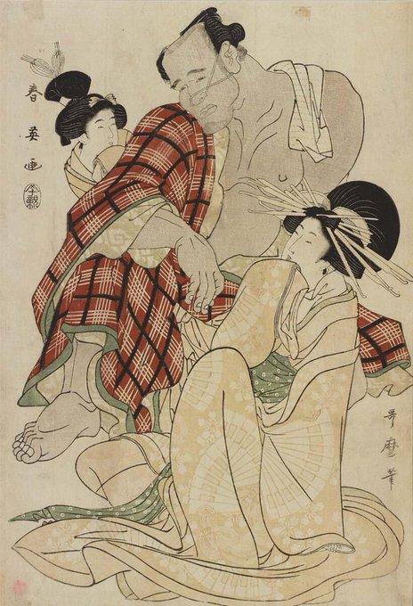 浮世絵に描かれた相撲と力士 - T...