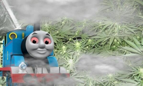 Thomas the dank engine Tweet added by ACID MINATI