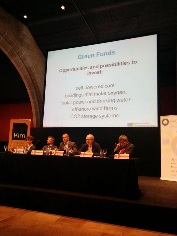 Green investment opportunities #KIMconference2014 http://t.co/R6TjCeuSzs