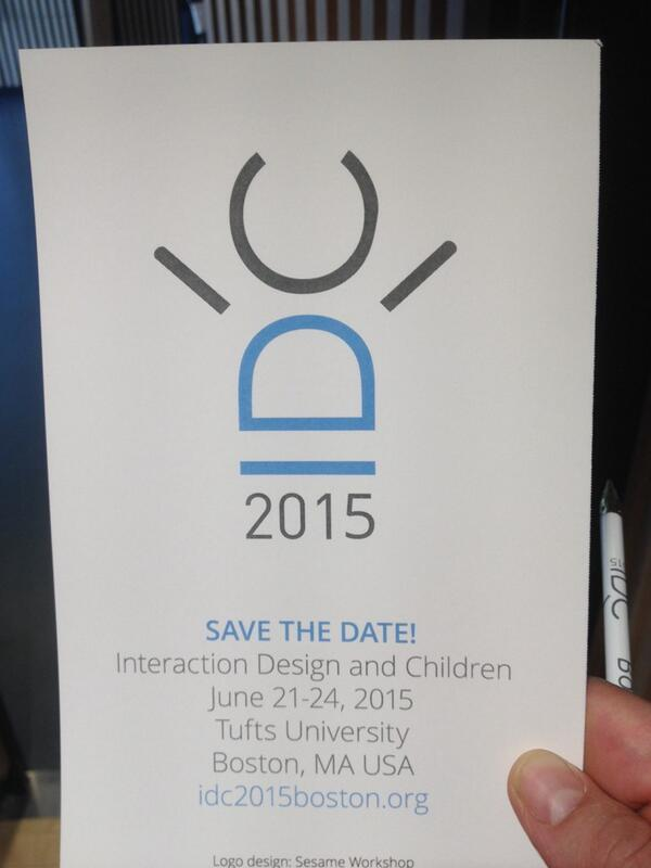 #idcdk IDC2015 is in...... Boston as a joined initiative of Tufts uni and Google http://t.co/lIghpQUQZl