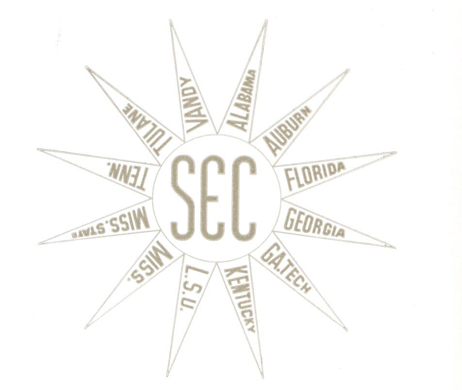 The SEC's first logo