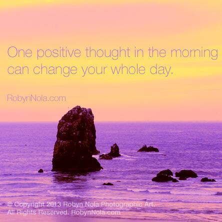 One positive thought in the morning can change your whole day. ♥ #grateful #affirmations #mantra #gratitude #inspire http://t.co/xB4OcOuWkv