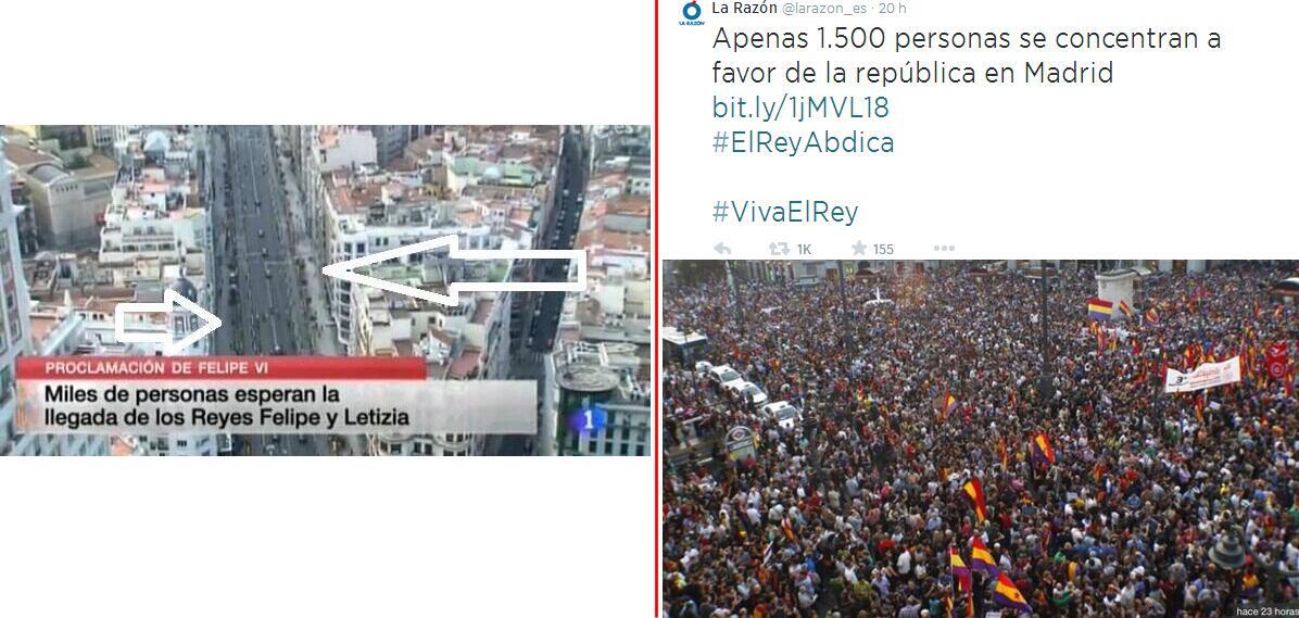 El escaso apoyo popular en las calles a Felipe VI BqfCiIbCIAAJn6v