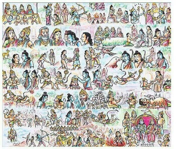 Ramayana in 1 Pic cc: @bibekdebroy @ShankkarAiyar @keshav61 http://t.co/MYfLEmijLH