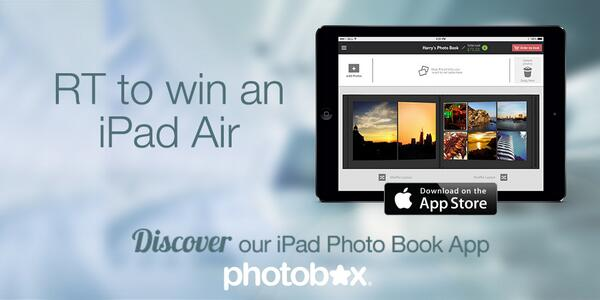 We've launched a new #iPad App and to celebrate we're running an iPad Air #giveaway Follow and RT to #win! http://t.co/4P1mFOJdDI