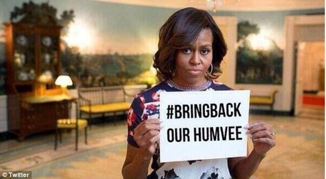 ISIS now mocking America with #bringbackourhumvees