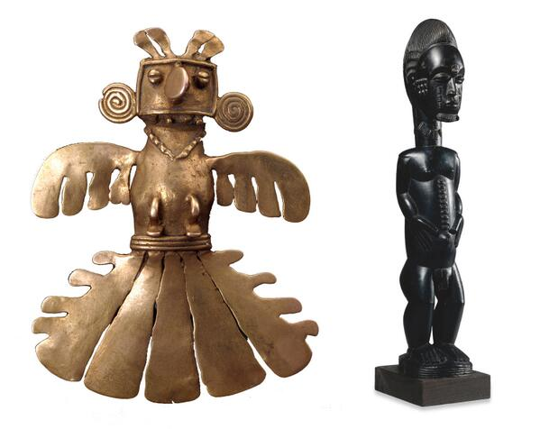 Pendant of a shaman from #COL and a spirit figure from #CIV http://t.co/Rc7wgTifQh http://t.co/p79f2w9Rui #WorldCup http://t.co/ai7s2QNohl