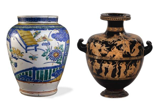 Porcelain jar from #JPN and a water jar from #GRE http://t.co/JGacwE6u6g http://t.co/k8JbWkCRxA #WorldCup http://t.co/5USvUBToCY