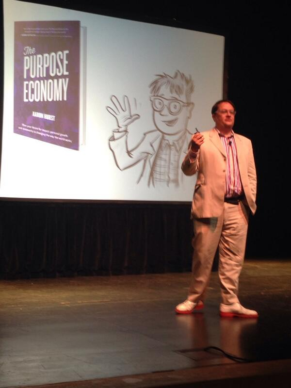 Up now at #purposecity: @Aaron_Hurst on the @PurposeEconomy http://t.co/xE5bw3tcmz