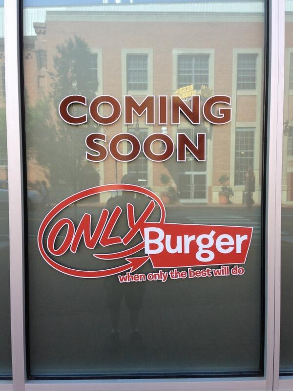 It's official!! Only Burger opening 2nd location @ATCDurham http://t.co/UIAtG5JNFo