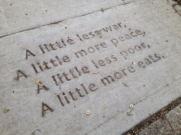 .@cityofsaintpaul sidewalk poetry is a wonderful love note to the community, says @pkageyama #mncities http://t.co/J7LrYauv9I