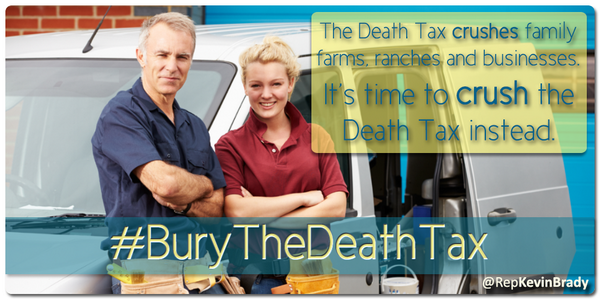 Support for repealing death tax grows in the House http://t.co/GQROfM9nEg #BuryTheDeathTax #PJNET @NFIB @60PlusAssoc http://t.co/JLNFzf2eUI