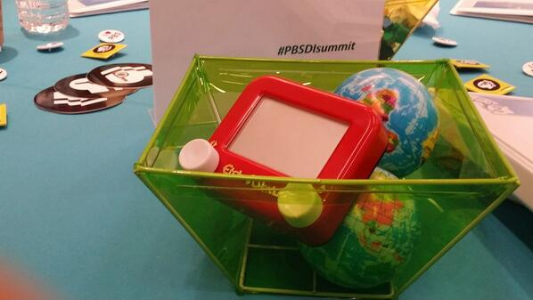 @PBSLrnMedia  knows me too well! They provided toys to keep me entertained :) #PBSDIsummit http://t.co/VkKZ4K20KR