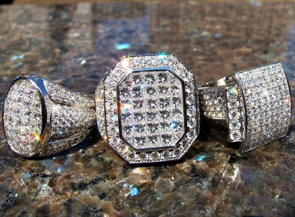 """TraxNYC Jewelry on Twitter """"Look at these shining crazy Diamond"""