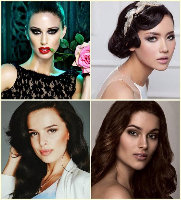 4 Gorgeous Queens In Miss Universe 2014 @MissUSA @puterindonesia_ @MissUniverseUk @RoleneStrauss http://t.co/RVrr0xxCjG