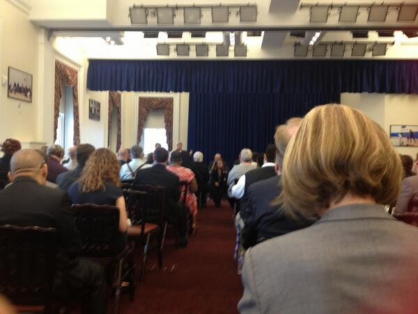 @LeadOnUpdate is at the White House Forum on #LGBT and #Disability - #LGBTD http://t.co/ey9XRicXFH