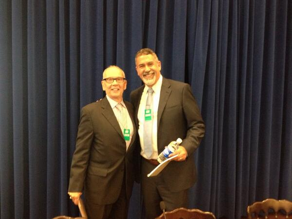 @WhiteHouse for @TheTaskForce event on #LGBTD @WhiteHouse s@NDRNadvocates ED Curt Decker w/Michael Yudin of @usedgov http://t.co/hTKgtTgx0z