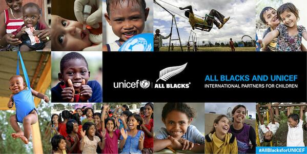 A huge welcome to the @AllBlacks & #NZRugby who are joining me & the team at @UNICEF #TeamUNICEF #AllBlacks @UNICEFNZ http://t.co/d75JSmxRTQ