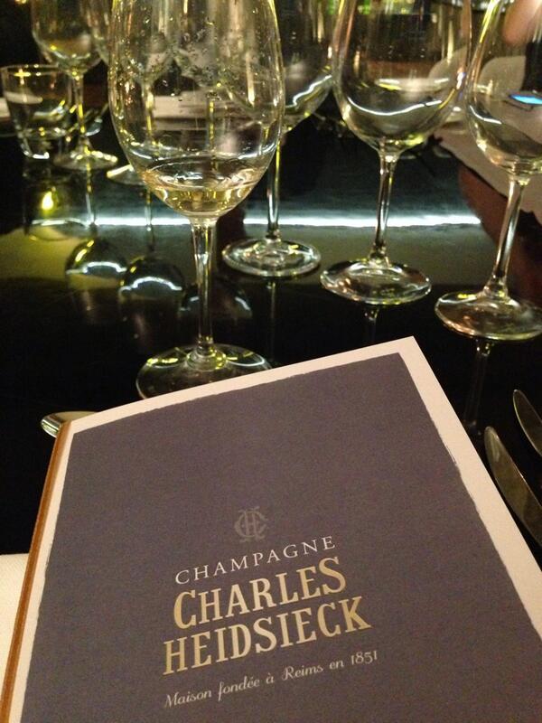 Iniziamo #charliesway #Champagne #roma vero @sidewine_com ? @RadissonBluRoma http://t.co/Wrcon4g30x