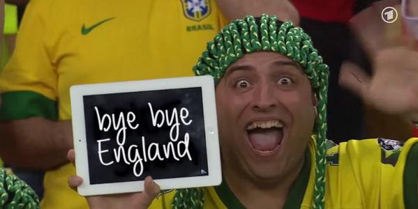 CĐV Brazil đã sẵn sàng nói lời chia tay tuyển Anh