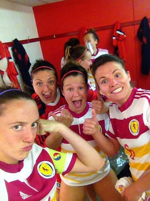 Meanwhile, good news re the Scottish Womens Side is erm cut short when the ringer is revealed http://t.co/kvFsG6Bp4l