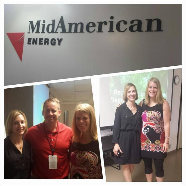 Kudos to MidAmerican for Safety Day trainings. Great day with @ResiliencyProj!.#mentalhealth #resilience http://t.co/o2uTsOVXdi