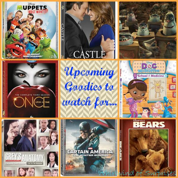 Good movies and shows coming soon to DVD