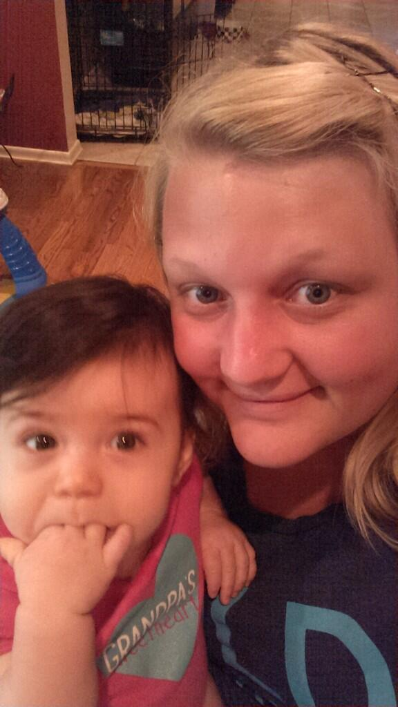 valerie alhart on twitter emerson alhart with babysitter miss