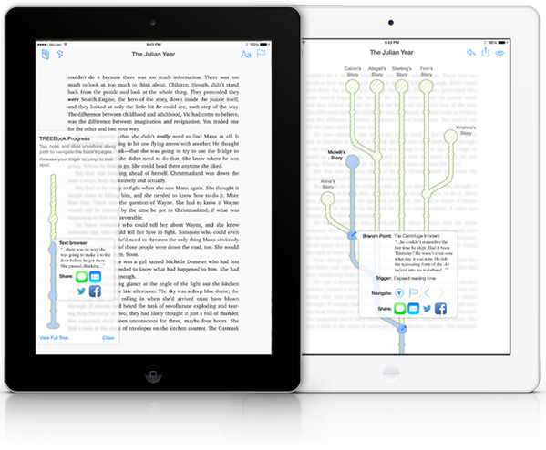 TREEbook™- Multiple story branching technology. It starts here http://t.co/sZ3YvLLoBx *ad http://t.co/BbnHA9muJ7