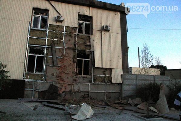 Террористы вели обстрел воинской части в Артемовске из жилых кварталов - Цензор.НЕТ 4904
