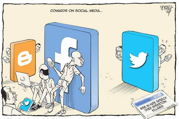 This is for those who think they are Social Media Ninjas. #StopTheHate http://t.co/QcfFZXvJYb