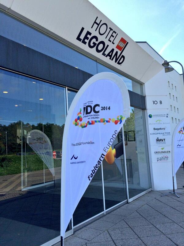 Hotel LEGOLAND is buzzing as @idc2014 busses roll in #idcdk http://t.co/HFyPrDxbj9