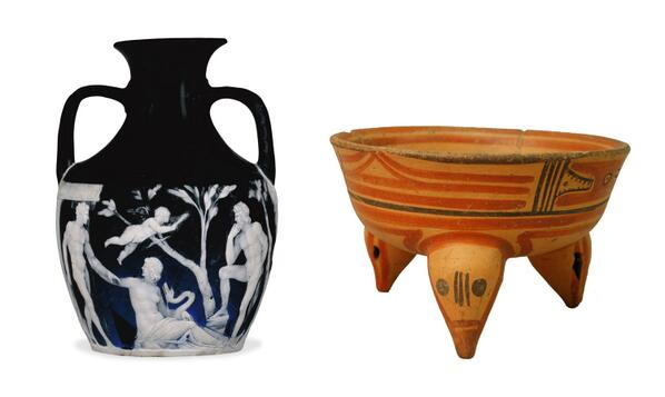 The Portland Vase from #ITA and a tripod bowl from #CRC http://t.co/OB05V9Bs1f http://t.co/L9SHfa5OxO #WorldCup http://t.co/TG19DvU8kF