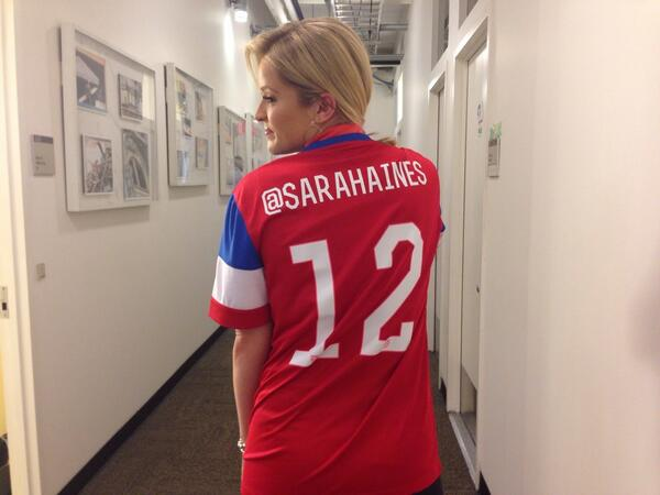 I believe that we will win! Go #TeamUSA from @GMA. We'll be watching!! #SeeYouSunday  #USMNT #OneNationOneTeam #1N1T http://t.co/6yhQ4EDAz2