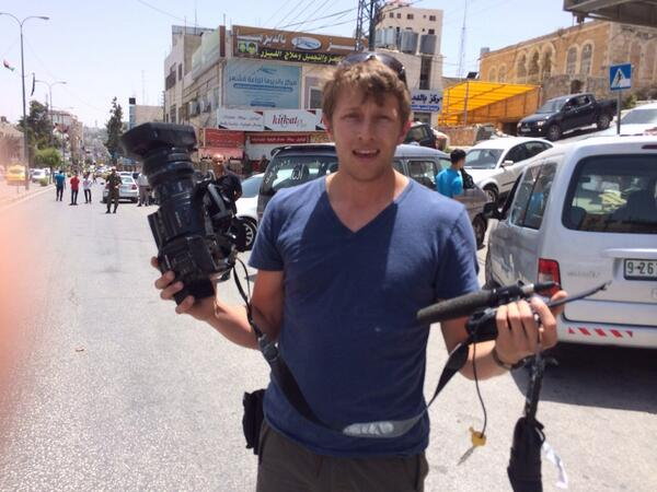 Thumbnail for Rough day for CNN crew in Hebron