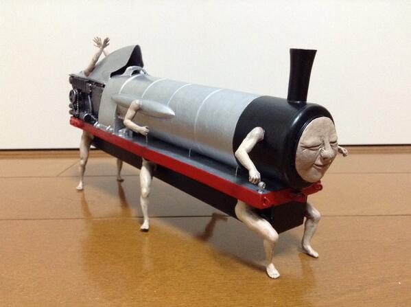 機関車、出来ました。 pic.twitter.com/vs7fZf2bQm