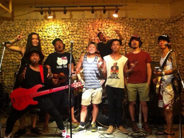 THE東北ライブハウス大作戦バンド♪ 明日、初LIVE! ヨロシクどーぞψ(`∇´)ψ #MIRF http://t.co/aEEmX8IODW