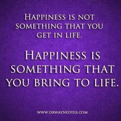Twitter / JoyAndLife: Happiness is not something ...