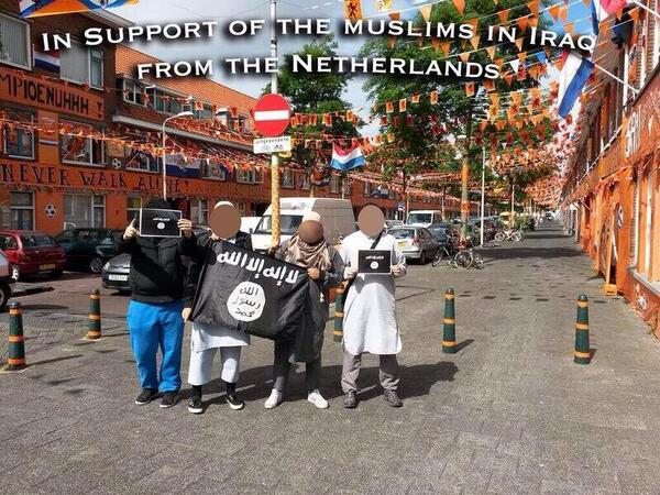 ISIS-aanhangers in Den Haag