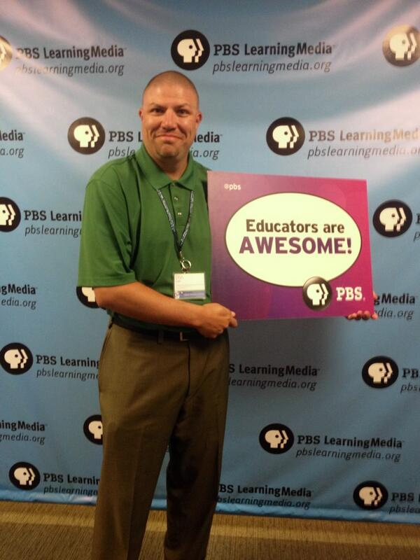 Yes! Educators are awesome. @PBSLrnMedia @pbsteachers @PBS #PBSDIsummit #education http://t.co/Hb28vSFuQz
