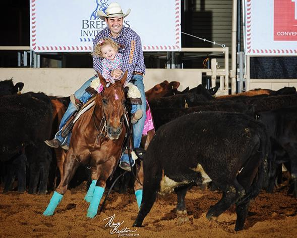 Which one do you think is having the most fun at the Breeder's Invitational Kids' Cutting? http://t.co/98T8w5iJKj
