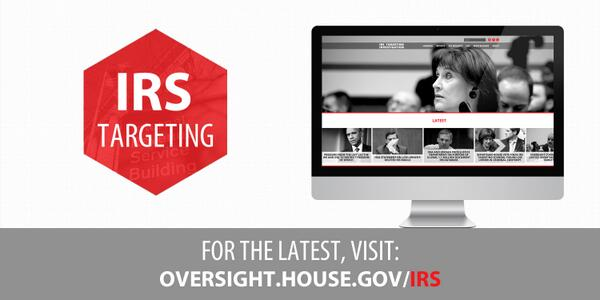 """MT @DarrellIssa: """"#IRStargeting site to stay up to date w/ @GOPoversight investigation http://t.co/sCzvJ1copy  http://t.co/mSsXl4C4fq""""#pjnet"""