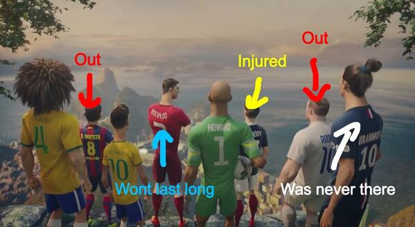 You had one job Nike... http://t.co/hq8DsGlf2b