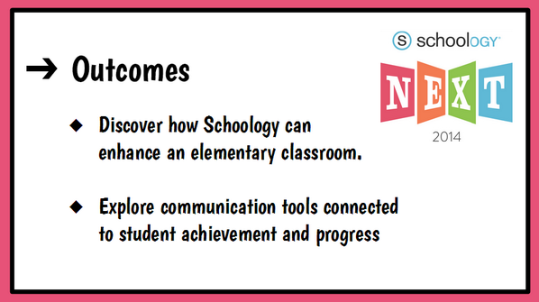 Putting finishing touches on our presentation for @Schoology's #NEXT14 conference here in Denver next week. #CCSDTech http://t.co/4MYiNeG07i