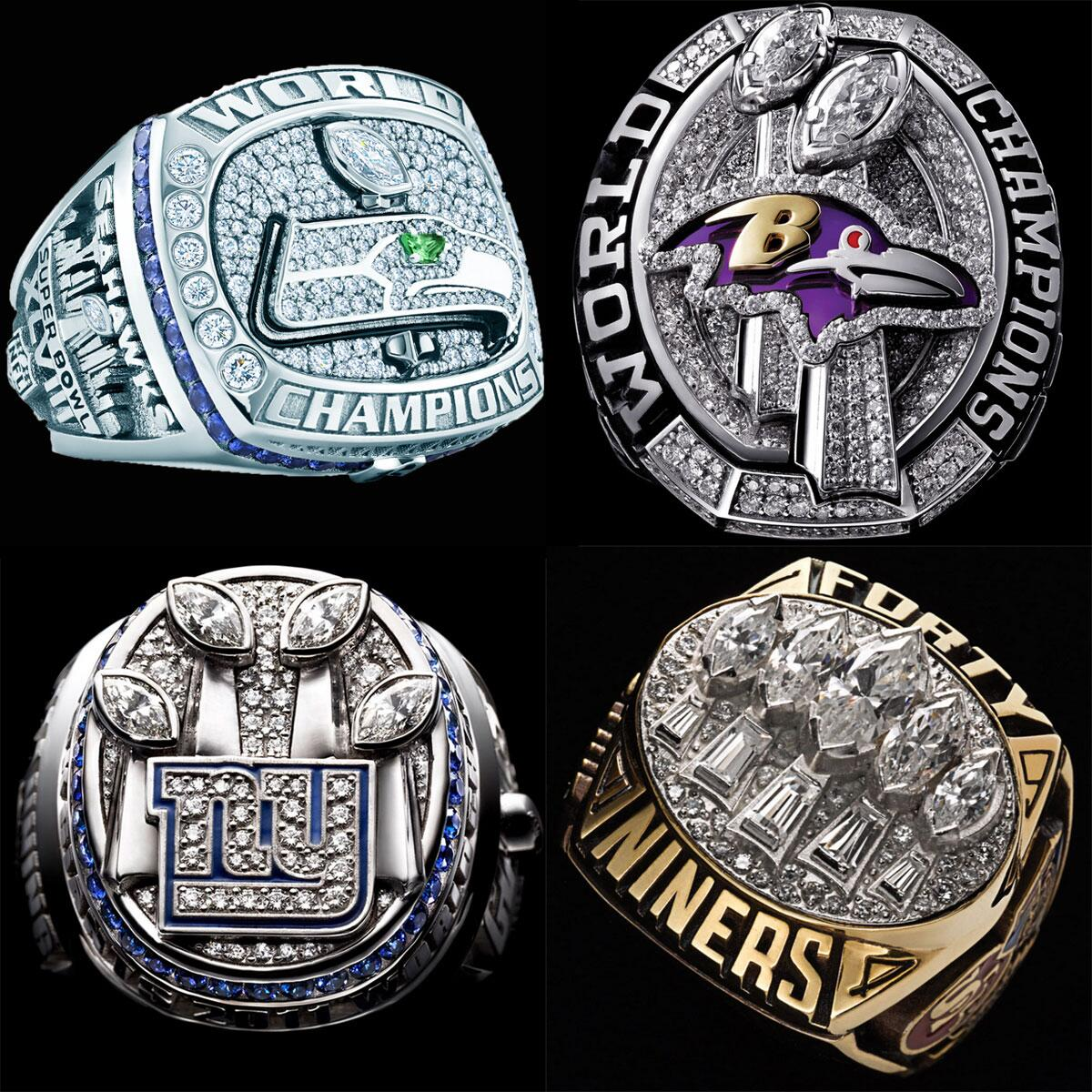 NFL on Twitter: quot;Every Super Bowl championship ring. Ever [PHOTOS]: http://t.co/xUrahuBUsJ http