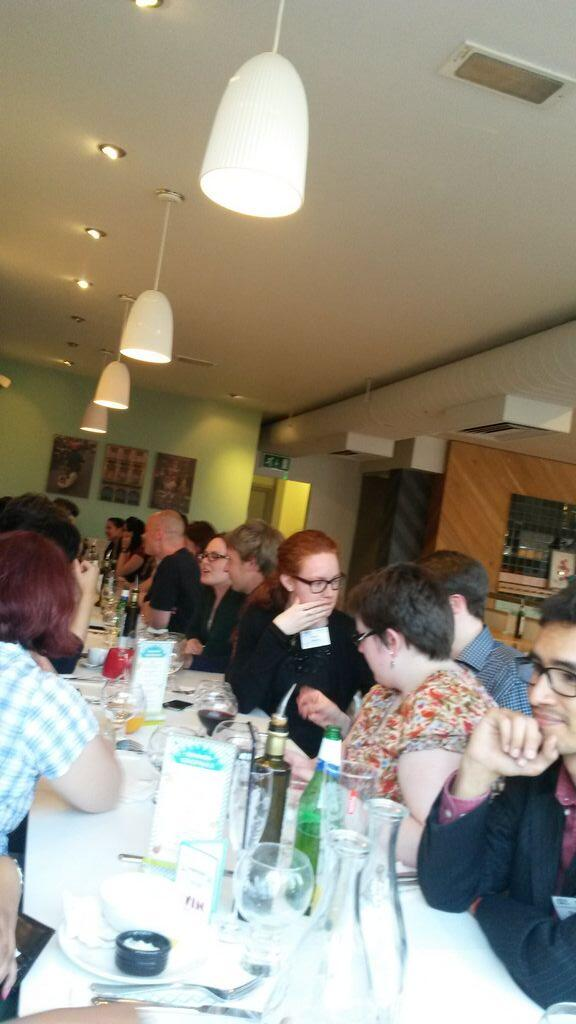 The last supper? It's #CRSF2014 meal time! @ASKItalian http://t.co/VT2R49VCvb