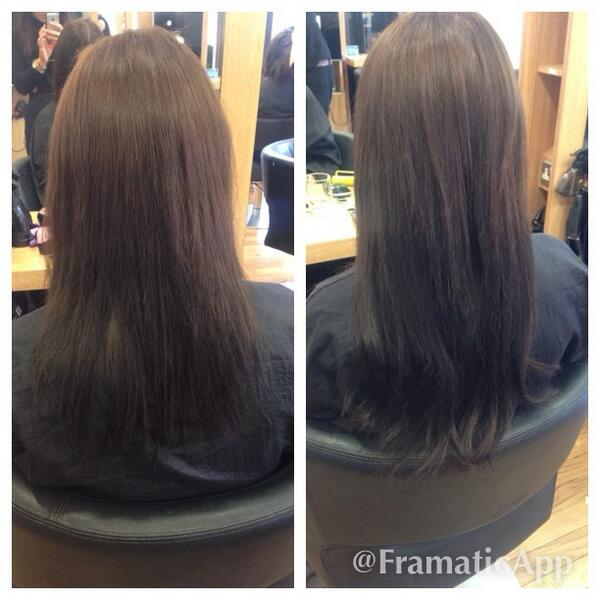 Saskia Garside On Twitter Before And After Rapture Hair Extension