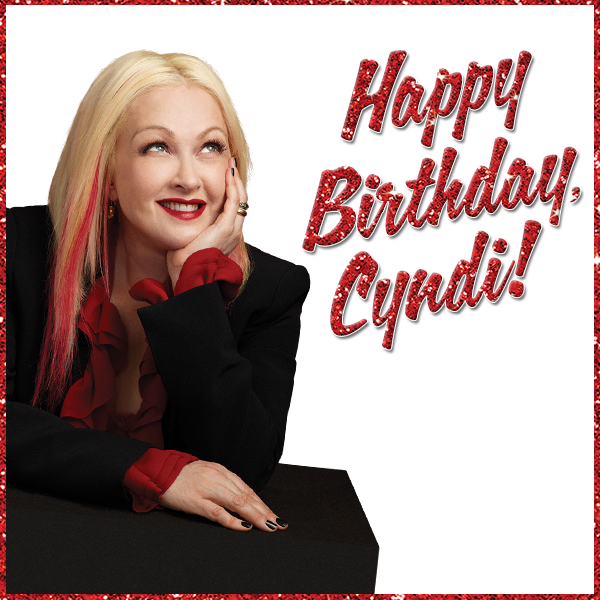 Kinky Boots On Twitter Wishing The Incredible Cyndilauper A Very Kinky Birthday We Love You Cyndi Kinkyboots Http T Co Deplltwjzm