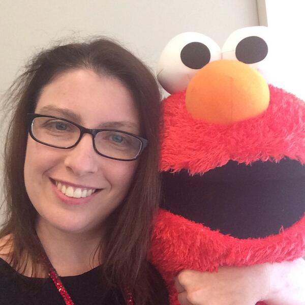 Seeking validation from my toddler in #selfie with Elmo @PBSLrnMedia #PBSDIsummit http://t.co/cU6hyb9NKq