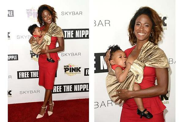 Finally, a celeb #breastfeeding /  #NIP on red carpet, thx 2 @UncleRush @TheRue @Scout_Willis  http://t.co/TUNNr0O86p http://t.co/d6RdrT89kC